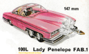 Lady Penelope's FAB 1 by Dinky. 1971 catalogue.