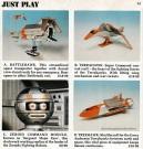 Terrahawks toys. Hamleys catalogue. 1983.